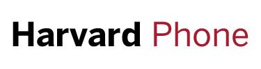 Harvard Phone